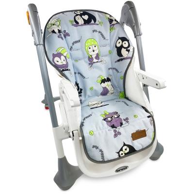 """Накидка на стульчик для кормления """"Cute Owls"""""""