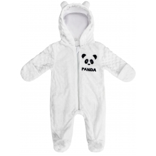 "Комбинезон для малышей принт ""Panda"" Плюш White"