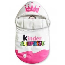 "Конверт ""Kinder Surprise"" Pink Crown Auto Флис"