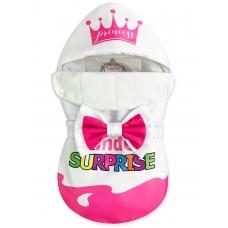 "Конверт ""Kinder Surprise"" Pink Crown Auto Бязь Лето"