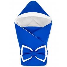"""Конверт-одеяло с капюшоном """"NewBorn"""" Dark Blue"""