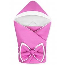 """Конверт-одеяло с капюшоном """"NewBorn"""" Pink"""
