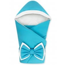 """Конверт-одеяло с капюшоном """"NewBorn"""" Blue"""
