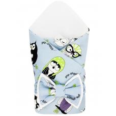 """Конверт-одеяло """"Cute Owls"""" Бязь"""