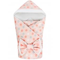 """Конверт-одеяло с капюшоном """"Микс Розовый"""" Бязь"""