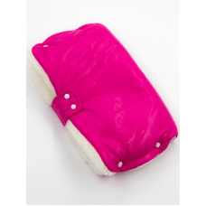 """Муфта для рук на коляску """"Pink"""" Меховая"""