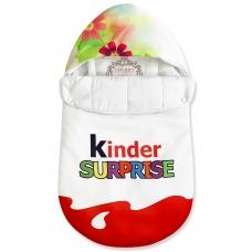"""Конверт """"Kinder Surprise"""" красный Цветы Лето"""