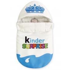 """Конверт """"Kinder Surprise"""" голубой Корона Лето"""