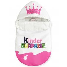 """Конверт """"Kinder Surprise"""" розовый Корона Лето"""
