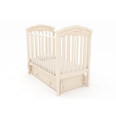 """Кровать """"Шарлотта люкс"""" м слоновая кость"""