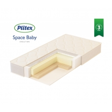 """Матрац детский """"Space Baby"""" 1190х600х120мм"""