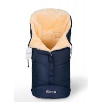Конверт в коляску Esspero Sleeping Bag (натуральная 100% шерсть) - Navy