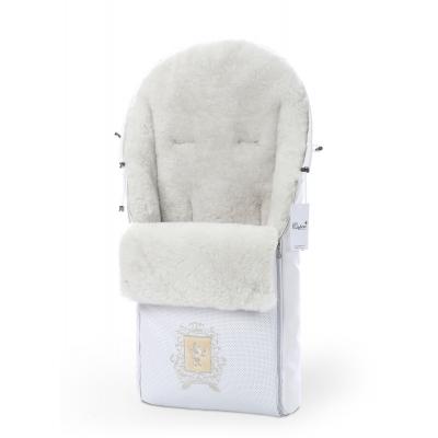 Конверт в коляску Esspero Queenly - White