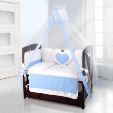 Балдахин на детскую кроватку Beatrice Bambini Bianco Neve - Puntini Blu