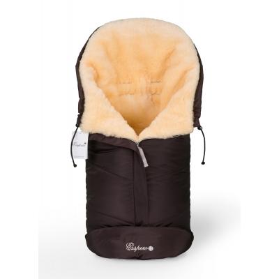 Конверт в коляску Esspero Sleeping Bag (натуральная 100% шерсть) - Chocolat