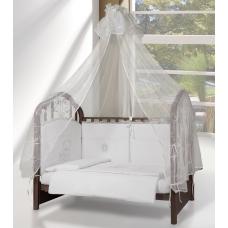 Балдахин на кроватку Esspero - Shine white