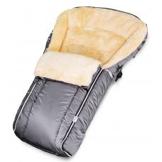Конверт в коляску Esspero Lukas (натуральная 100% шерсть) - Grey
