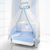 Комплект постельного белья Beatrice Bambini Unico Stella (125х65) - blu blu