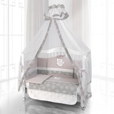 Комплект постельного белья Beatrice Bambini Unico Orso Mamma (125х65) - grigio grigio
