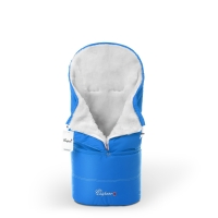 Конверт в коляску Esspero Transformer White (натуральная 100% шерсть) - Blue Mountain