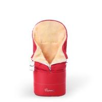 Конверт в коляску Esspero Transformer (натуральная 100% шерсть) - Red