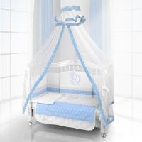 Комплект постельного белья Beatrice Bambini Unico Stella (125х65) - bianco blu