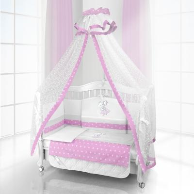 Комплект постельного белья Beatrice Bambini Unico Ragazza (125х65) - Unico Ragazza