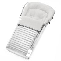 Конверт в коляску Esspero Markus (натуральная 100% шерсть) - Silver
