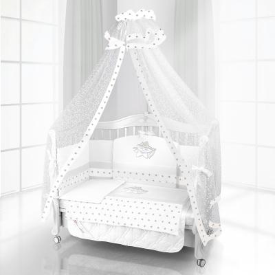 Комплект постельного белья Beatrice Bambini Unico Smile (125х65) - bianco bianco