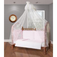 Комплект постельного белья Esspero Bears the Moon - Light Pink