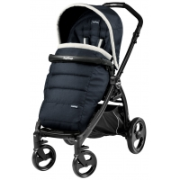 Прогулочная коляска Peg Perego Book Plus Pop Up (шасси Black) - Luxe Blue