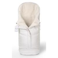 Конверт в коляску Esspero Sleeping Bag Arctic (натуральная 100% шерсть) - White