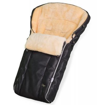Конверт в коляску Esspero Lukas Lux (натуральная 100% шерсть) - Black