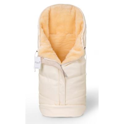 Конверт в коляску Esspero Sleeping Bag Lux (натуральная 100% шерсть) - Beige
