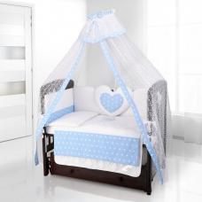 Балдахин на детскую кроватку Beatrice Bambini Di Fiore - Stella blu