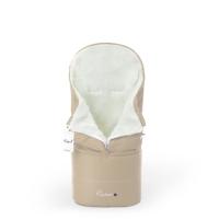 Конверт в коляску Esspero Transformer White (натуральная 100% шерсть) - Beige