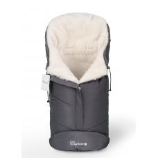 Конверт в коляску Esspero Sleeping Bag White (натуральная 100% шерсть) - Grey