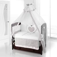Балдахин на детскую кроватку Beatrice Bambini Di Fiore - Anello grigio