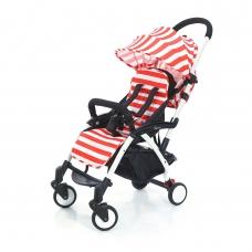Детская прогулочная коляска Esspero Summer Lux - Red Stripe