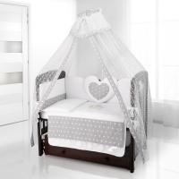 Балдахин на детскую кроватку Beatrice Bambini Di Fiore - Stella grigio