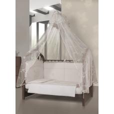 Балдахин на кроватку Esspero - Shine beige