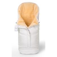 Конверт в коляску Esspero Sleeping Bag Lux (натуральная 100% шерсть) - White