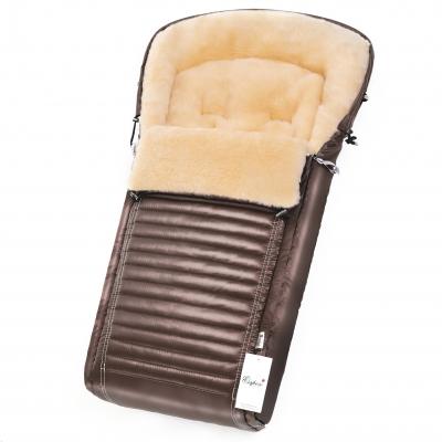 Конверт в коляску Esspero Lukas (натуральная 100% шерсть) - Mocca