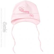 Шапочка для девочки, розовая