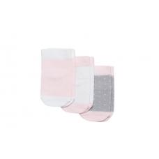 """Носки для девочки, 3 пары """"точки"""""""