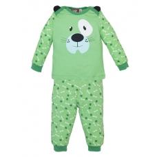 "Пижама для мальчика ""Друг"" зеленая"