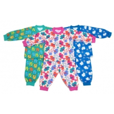 Пижама детская начёс на манжетах