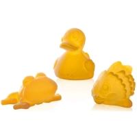 Набор игрушек для ванной из натурального каучука Pond