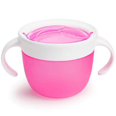 Контейнер поймай печенье розовый