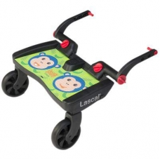 Подножка для второго ребенка Lascal Buggy Board Maxi Monkey Jungle Green
